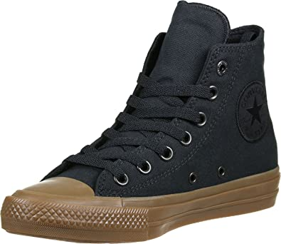 5f374fbb1275 Image Unavailable. Image not available for. Color  Converse CTAS Chuck  Taylor All Star II HI Black Black Gum 8.5 Women