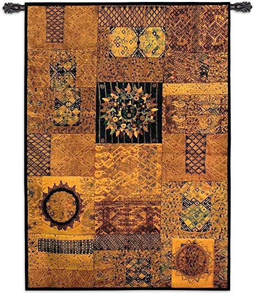 Guatemala Woven Art Tapestry Throw 2922-T Made in USA