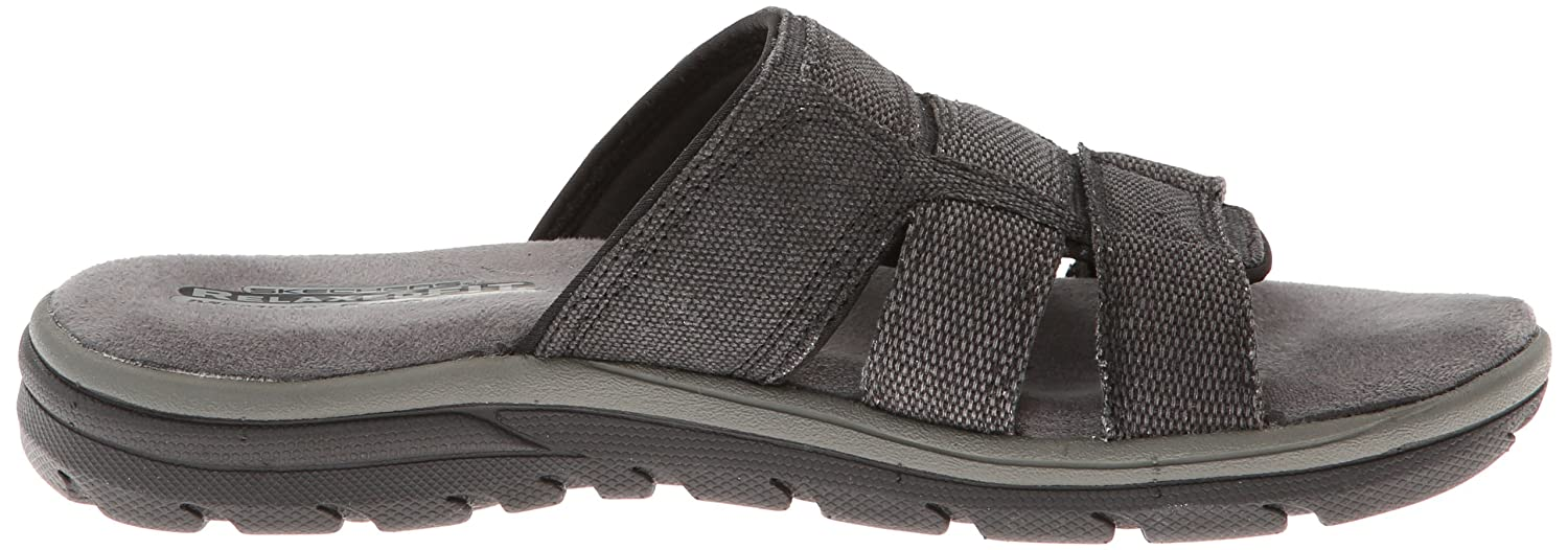 Skechers USA Men's Supreme Glade Relaxed Fit Sandal