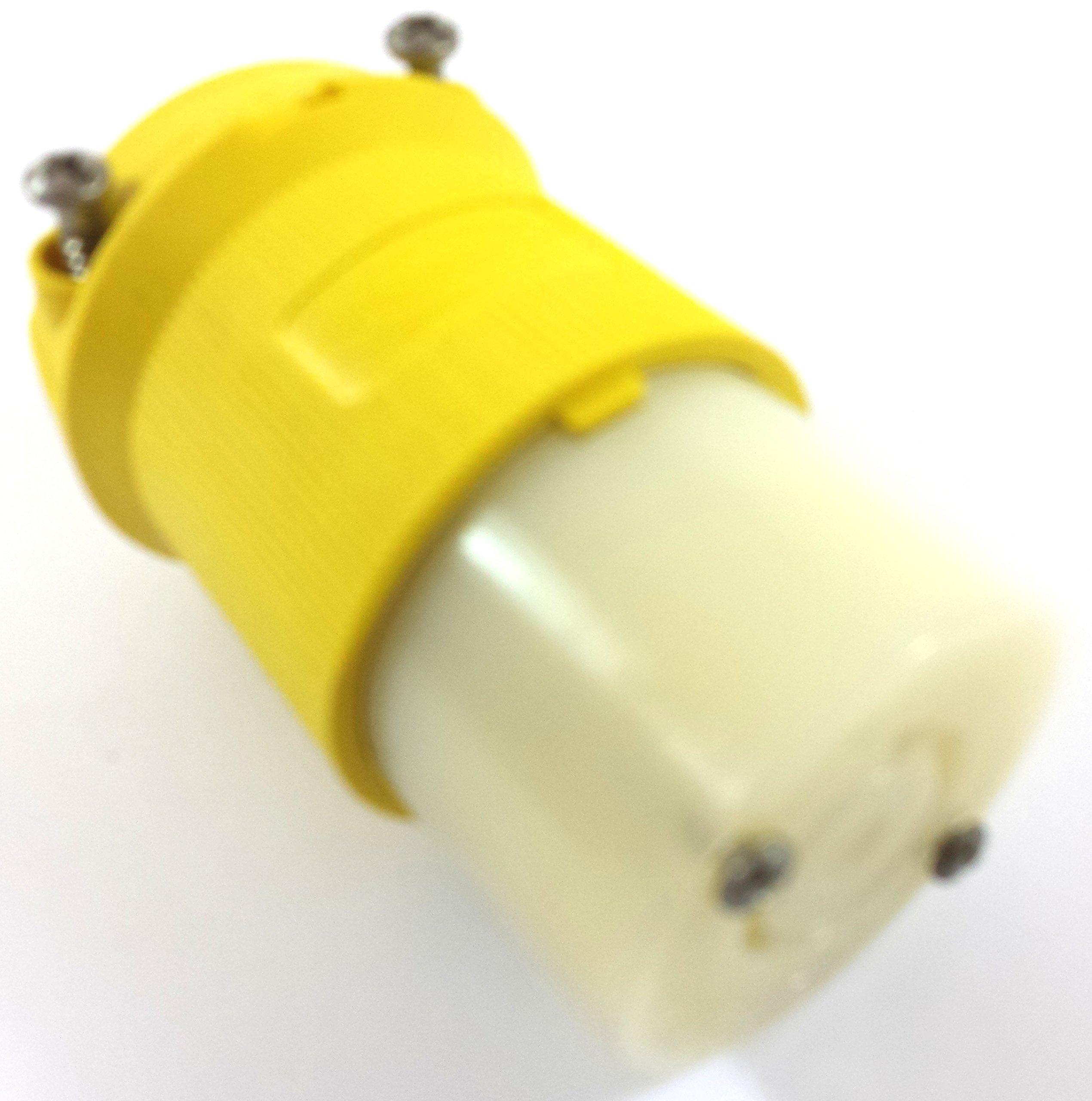 HUBBELL HBL24CM23 20A 250V 3P 4W L15-20R TWIST LOCK CORD BODY by IAR