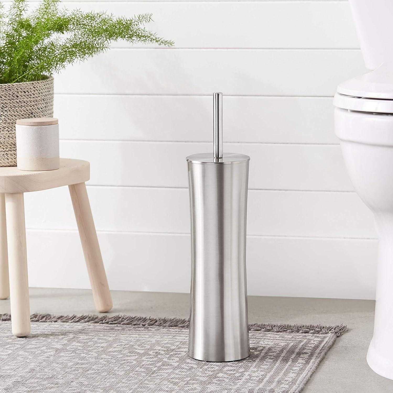 Matte Standard Basics Bathroom Accessory Collection Toilet Brush Holder
