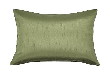 Amazon Aiking Home Solid Faux Silk Decorative Pillow Cover Magnificent Faux Silk Decorative Pillows