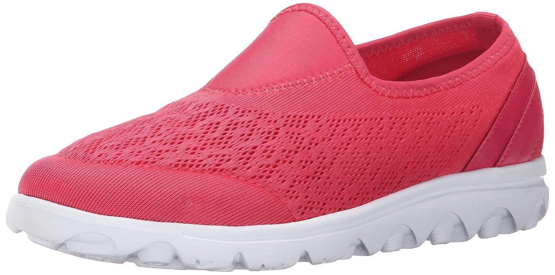 Propet Women's TravelActiv Slip-On Fashion Sneaker B0118GP4SM 9 B(M) US|Watermelon Red