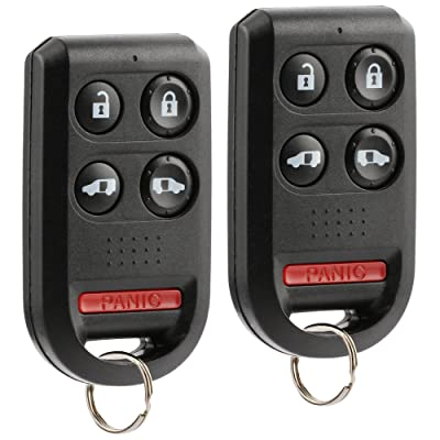 Car Key Fob Keyless Entry Remote fits 2005 2006 2007 2008 2009 2010 Honda Odyssey (OUCG8D-399H-A 5-btn), Set of 2: Automotive