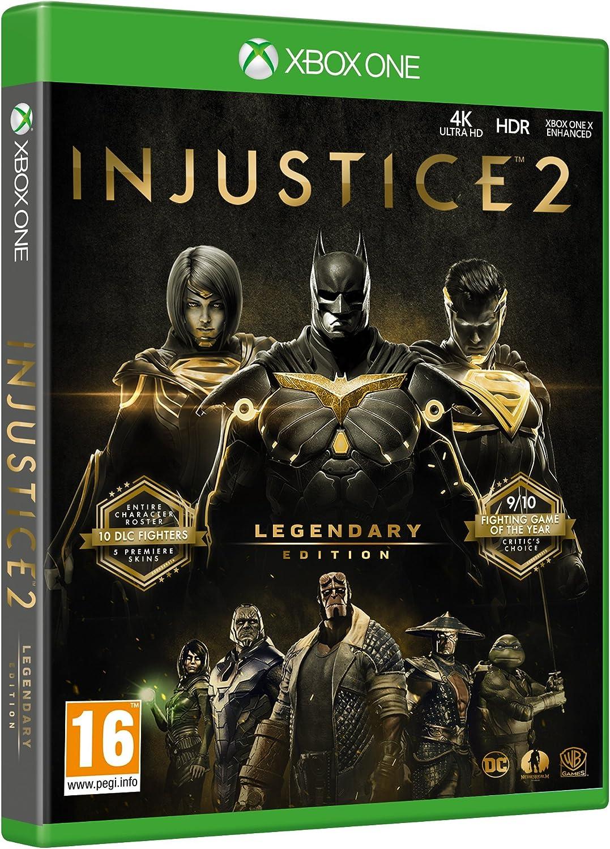 Injustice 2 Legendary Edition - Xbox One [Importación inglesa ...
