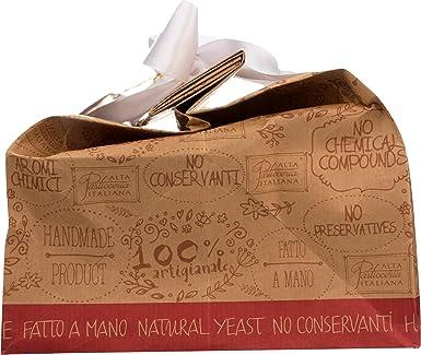 Alta Pastisseria Italiana Panettone de espelta y chocolate vegan - 750 gr.: Amazon.es: Alimentación y bebidas