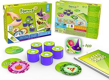 kibi Forms 3D - Juegos de Mesa rápidos y Divertidos con Formas y ...