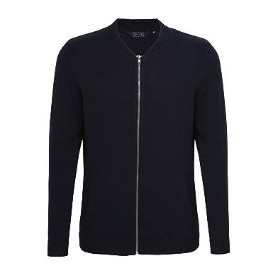 767d14e19259 Affordable Fashion Mens Zip Up Baseball Cardigan  Amazon.co.uk  Clothing