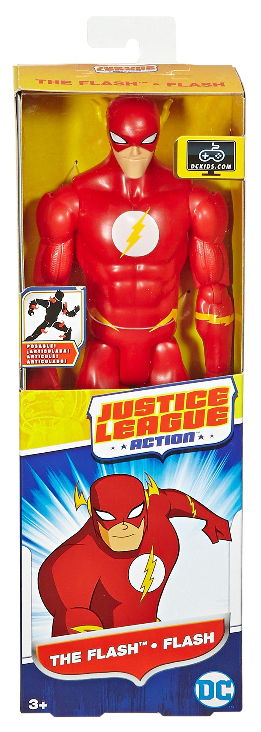 Justice League Action The Flash Figure, 12'' by Mattel (Image #4)