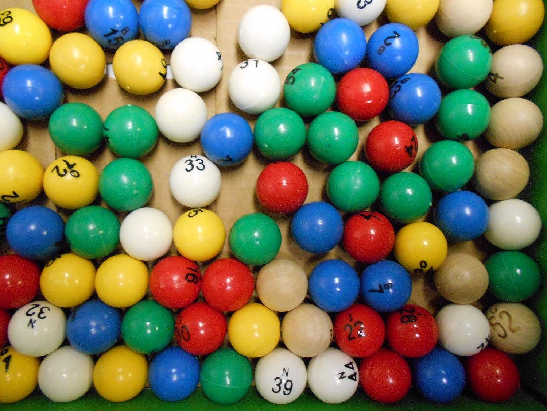Plastique Balles de Bingo (1–75) de Nombreux Bingo Balls