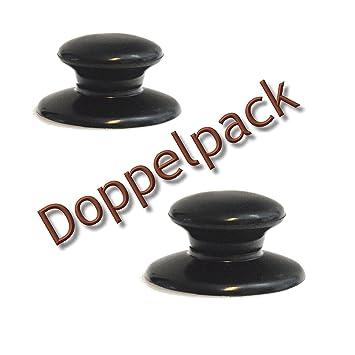 Tirador de repuesto universal para tapa de olla, color negro, apto para muchas marcas., plástico, 2: Amazon.es: Hogar