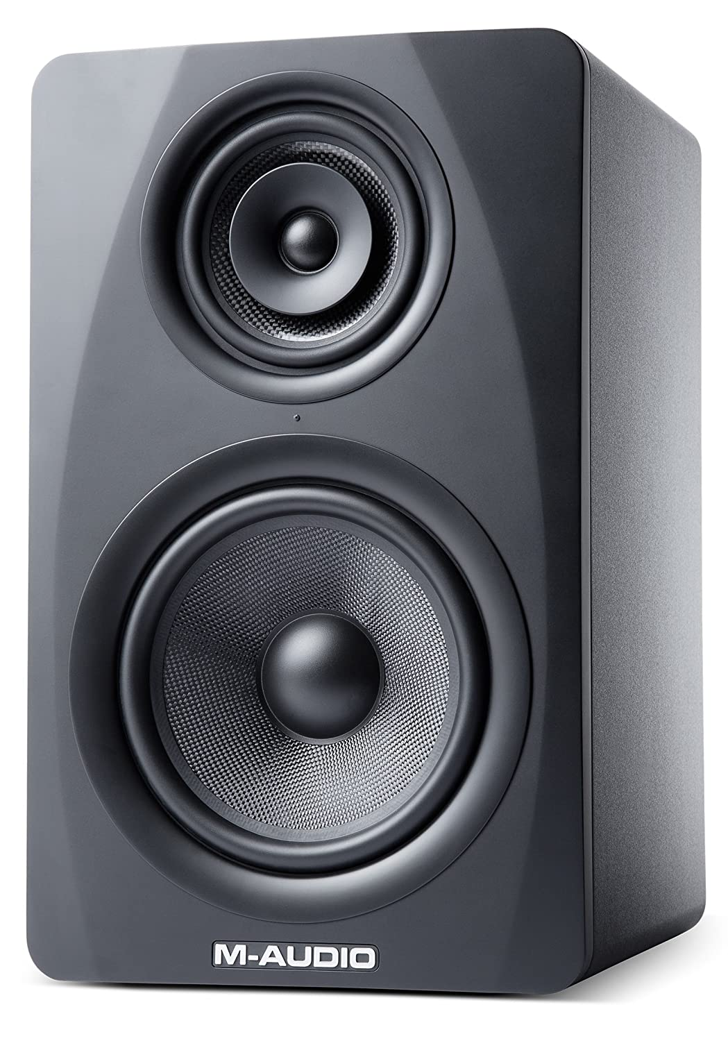 Amazon.com: M-Audio M3-8 (black) M3-8 | 3-Way Active Studio Monitor Speaker  with 8-inch Woven Kevlar Woofer (Single/Black): Musical Instruments