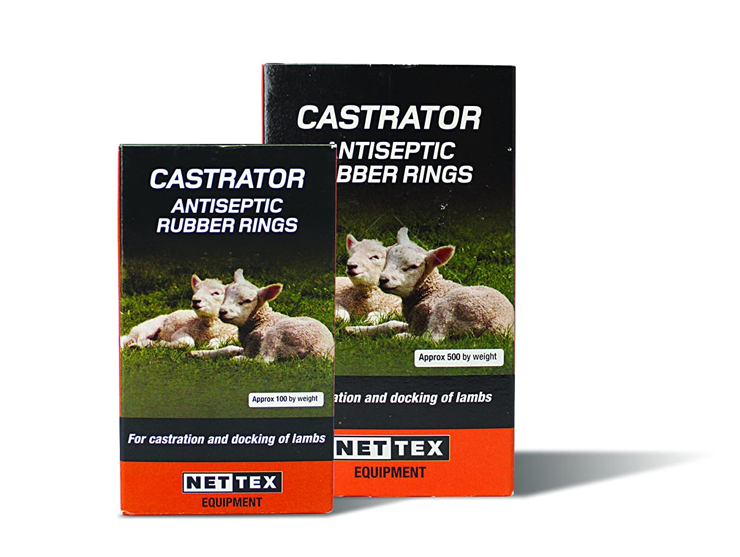 Castrating Rings - Net-Tex (Bag of 100 Rings)