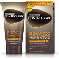 Just For Men Control GX Champú y Acondicionador Reductor de Canas - Tinte para las canas