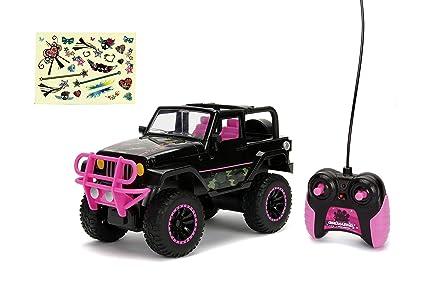 Amazon Com Jada Toys 30353 Big Foot Jeep Wrangler Girlmazing Rc