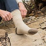 Minus33 Merino Wool Day Hiker Sock, Natural