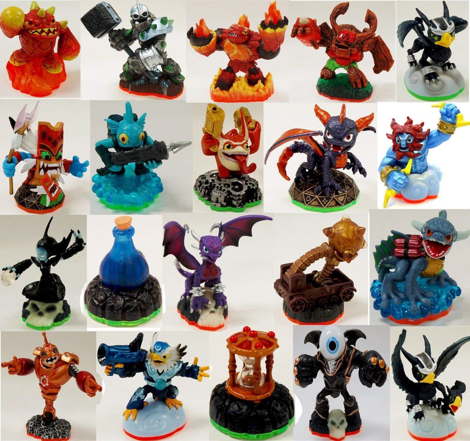 20 x NEW BULK LOT Skylanders Figure Spyro Swap Force Giants Wii-U 3DS PS4 PS3 XBox 360