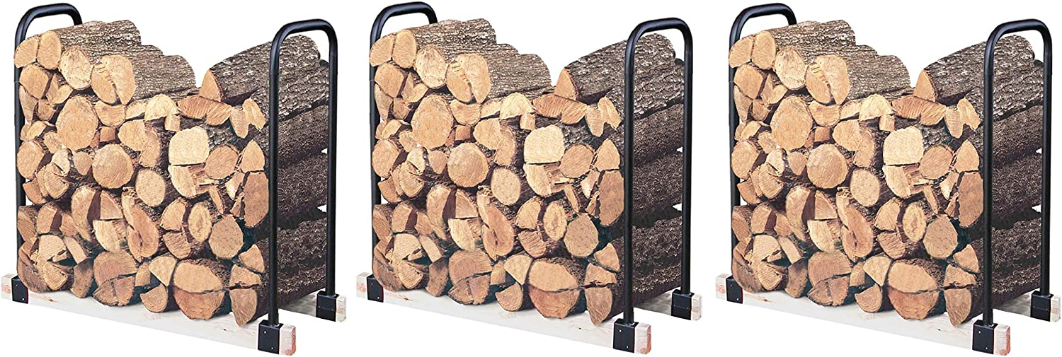 Landmann USA 82424 Adjustable Firewood Rack, Upto 16-Feet Wide hree P ck