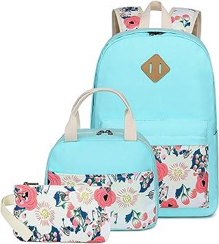 Amazon Com Camtop School Backpack Girls Bookbag Set Student