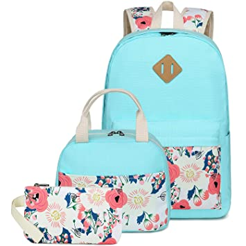 Amazon.com: Camtop - Mochila escolar para niñas (3 en 1): FRONET