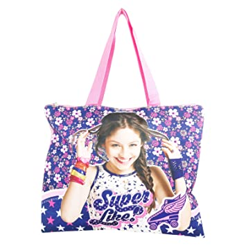 Disney Soy Luna Superlike Bolso de Mano Para Mujer Chica para la Playa y lo Shopping Fashion: Amazon.es: Equipaje