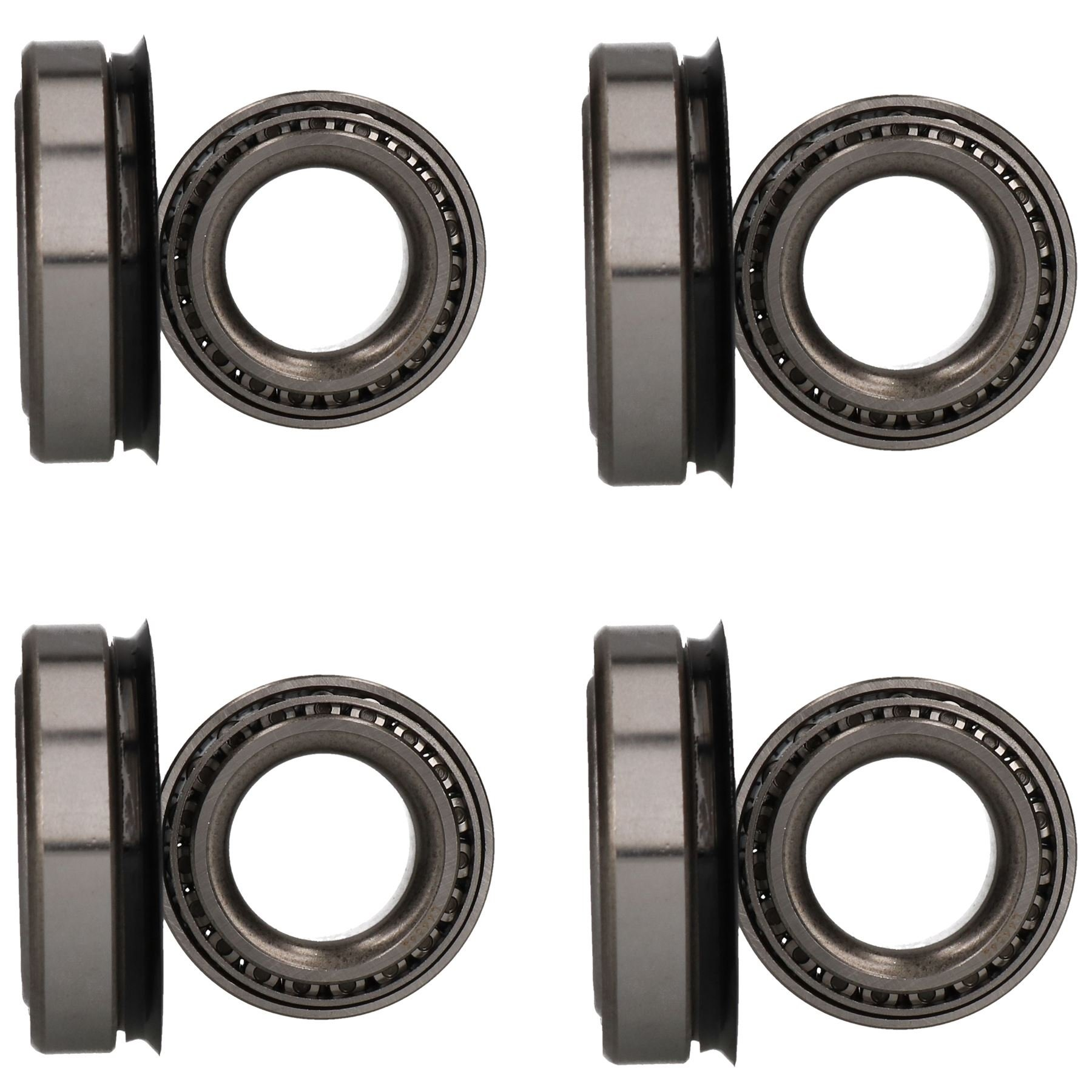 AB Tools 4 Trailer Bearing Kit for Indespension 200 203mm Drum 7848 44649/10 67048L/10 by AB Tools
