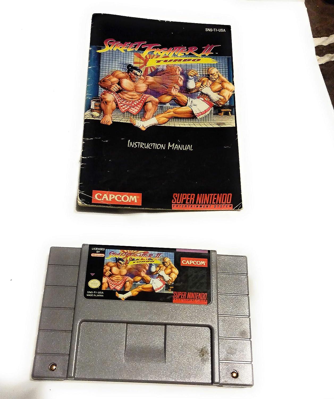 Amazon Com Street Fighter Ii Turbo Video Games
