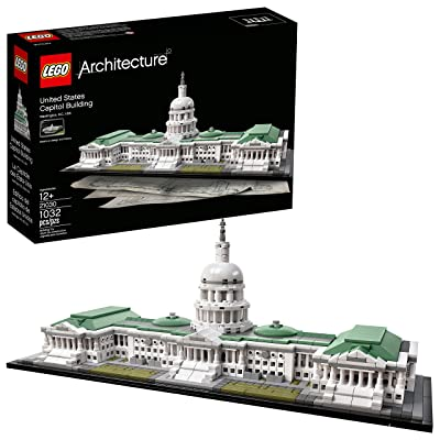 LEGO Architecture 21030 United States Capitol Building Kit (1032 Pieces): Toys & Games