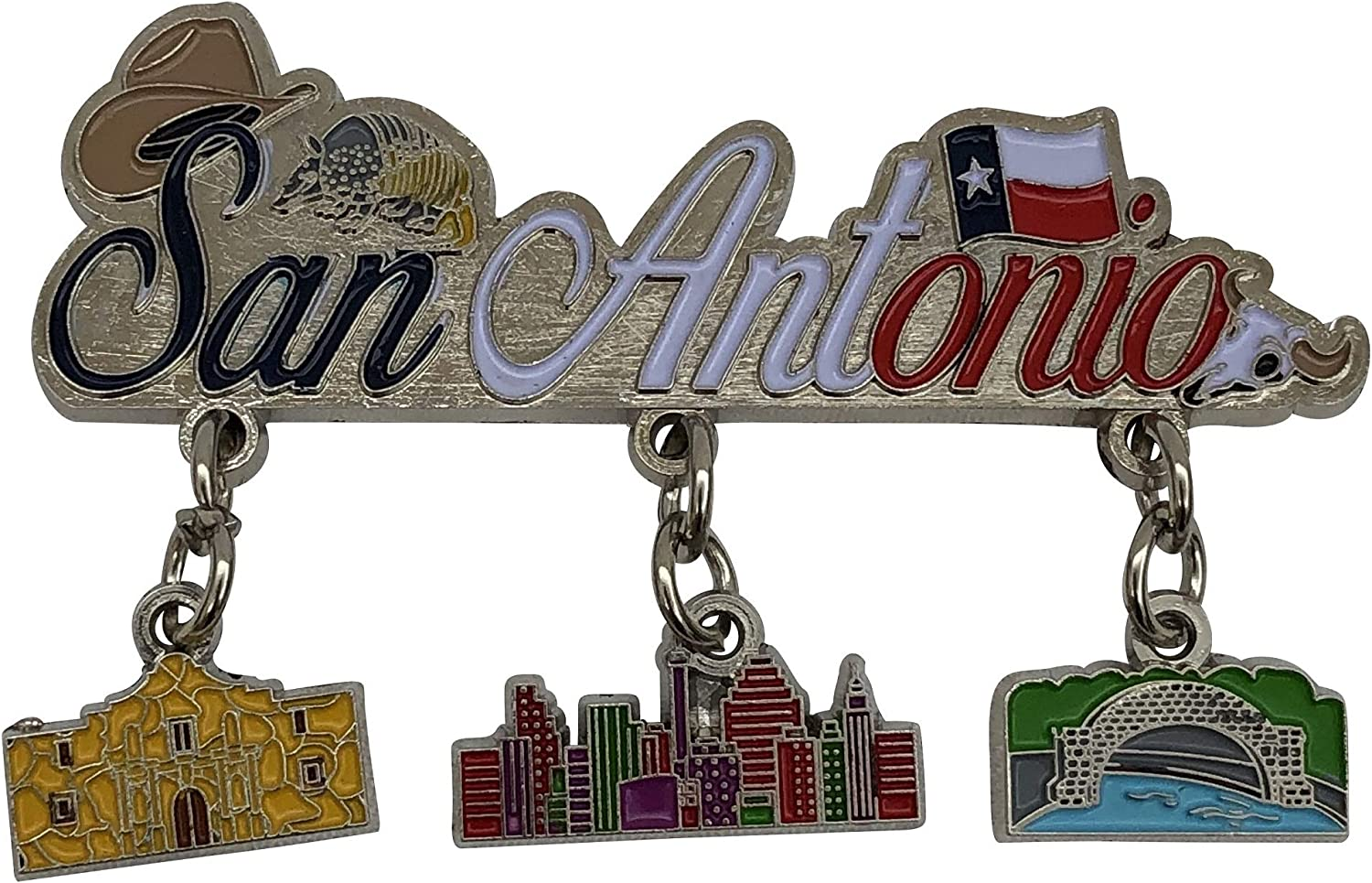 American Cities and States of Magnets (San Antonio)