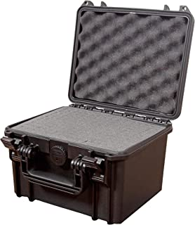 Festnight Black Hard Tool Box Cases 35 x 29.5 x 15 cm
