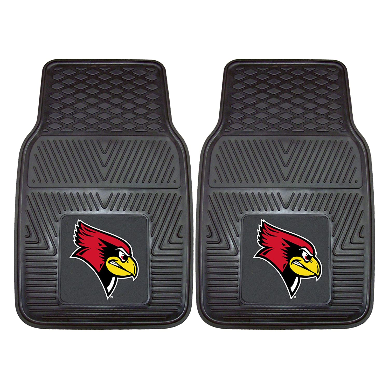Fanmats 13291 Illinois State University Redbirds Front Row Vinyl Heavy Duty Car Mat 2 Piece