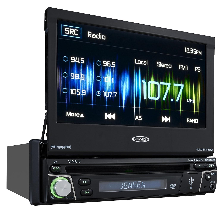 amazon com jensen vx7012 7 inch lcd multimedia retractable touch rh amazon com Jensen Car Audio Jensen ManualDownload