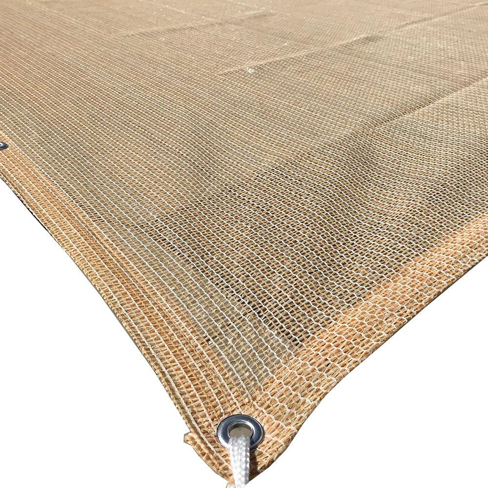 Alion Home HDPE 50/% Sun Block Garden Netting Mesh 6x34 Beige