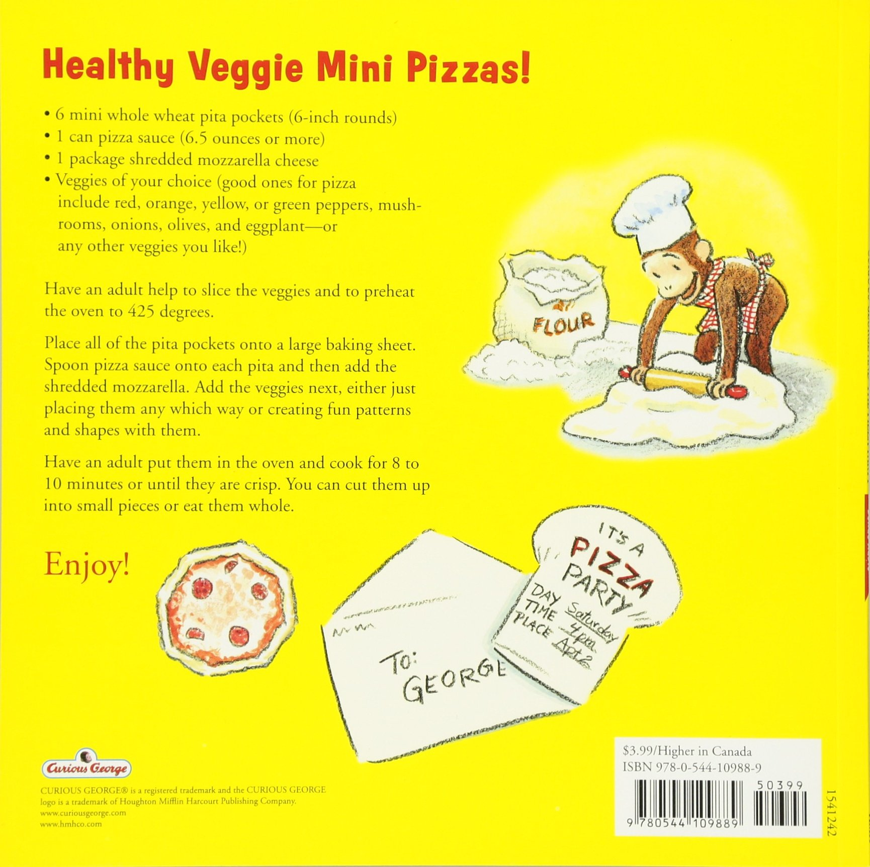 Curious George and the Pizza Party with downloadable audio: H. A. ...