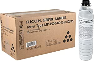 Ricoh Toner Cartridge for Aficio MP Series Printers, Black (841346)