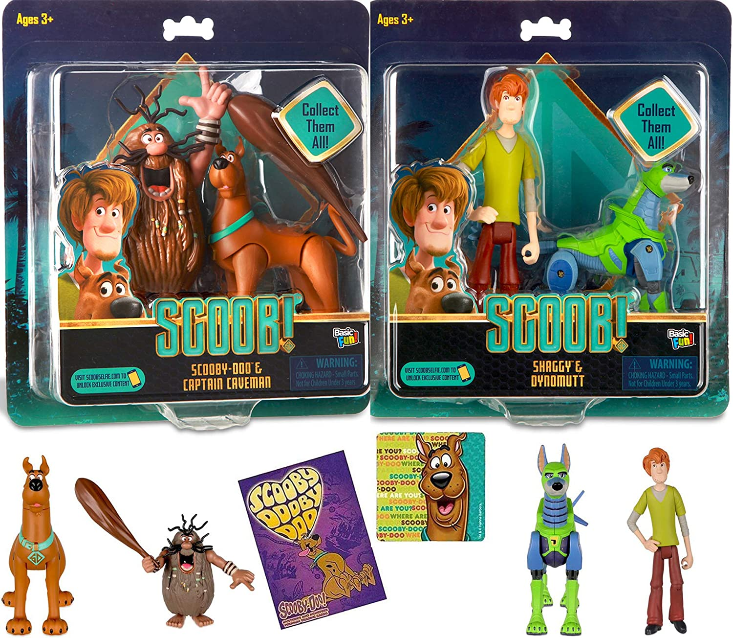"Scoob Scooby Doo Movie DYNOMUTT 4.5/"" Figure From 2 Pack Loose New"