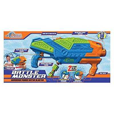 Tidal Storm Battle Monster Dual Function Pressurized Water Blaster: Toys & Games