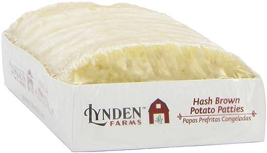 Amazon.com : Lynden Farms Potato Patty 10 Pk, 22.5 oz (Frozen ...