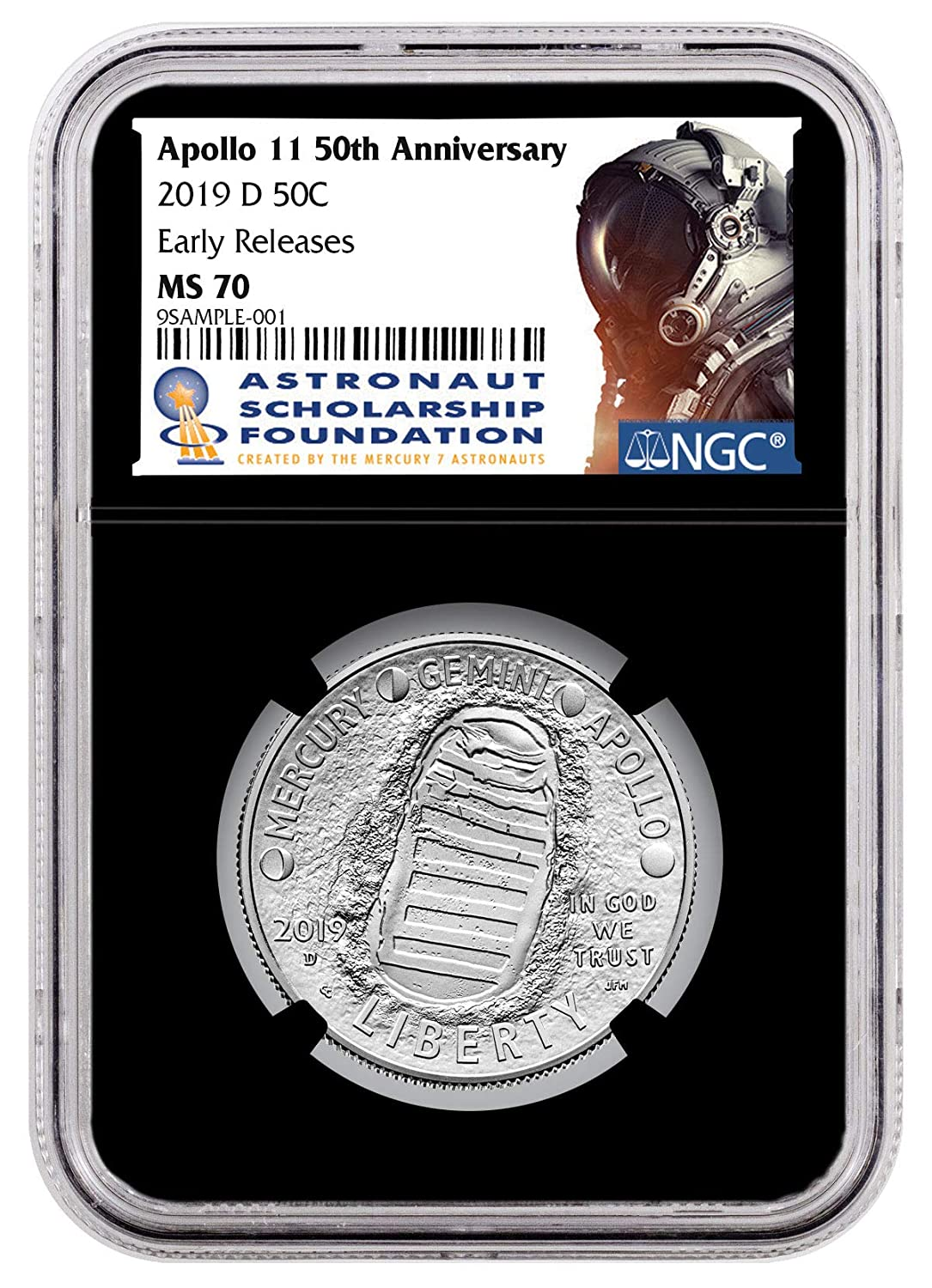 2019-S KENNEDY CLAD PROOF 50c EARLY RELEASES From 10-Coin Clad Set NGC PF70 UCAM