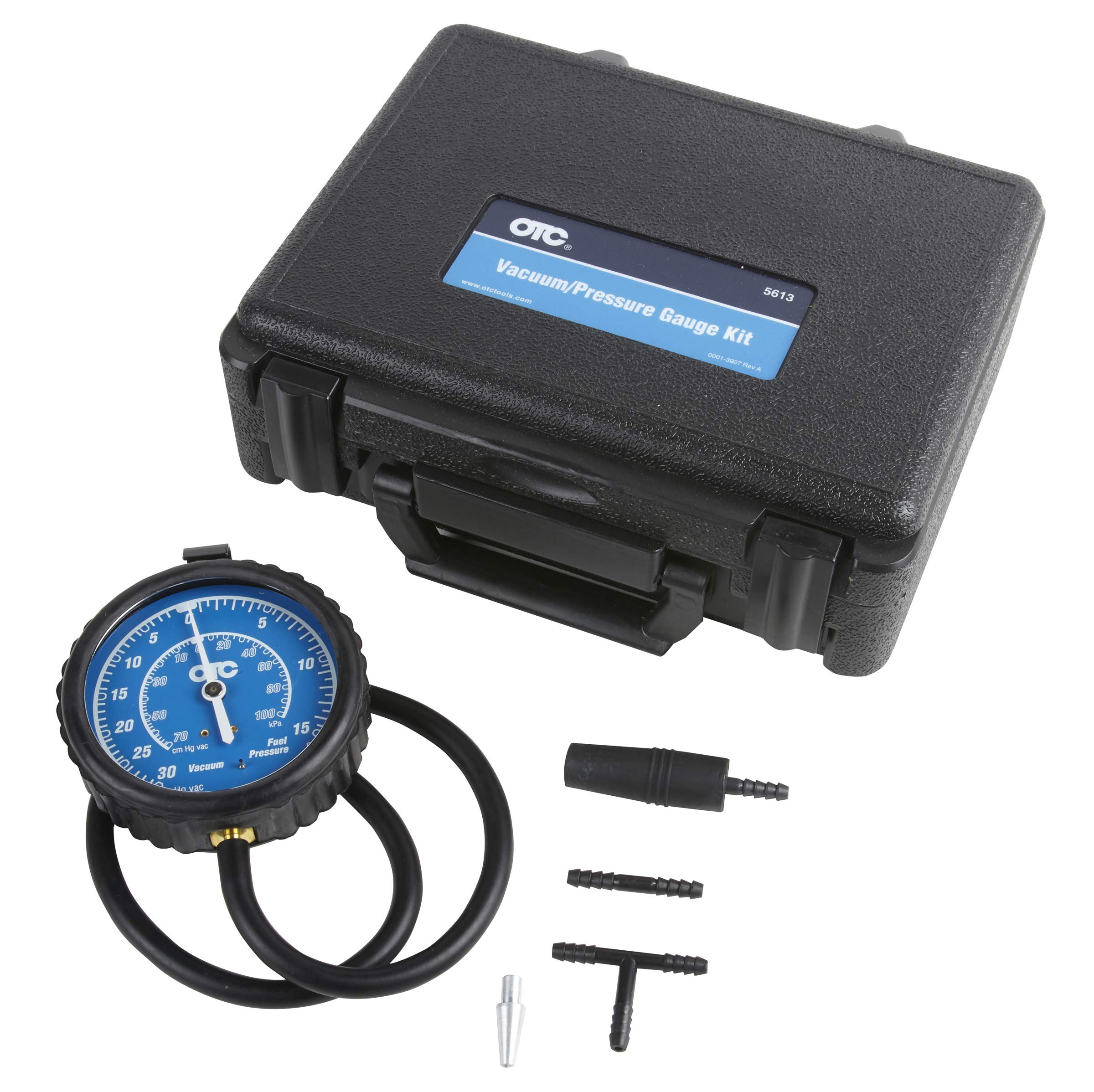 MILLION PARTS Fuel Injection Pump Pressure Tester Manometer Car Auto Gauge Kit