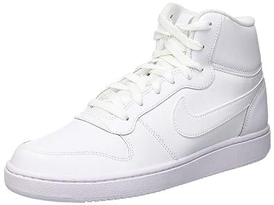 pick up 9aab3 b9655 Nike Herren Sneaker Ebernon Mid Sneakers Weiß White 001, 40 EU