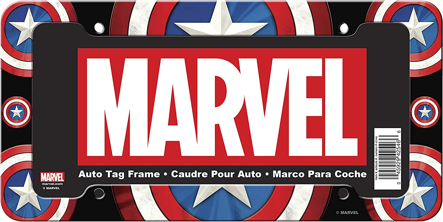 Chroma 042546 Marvel Captain America Shield Plastic Frame 1 Pack