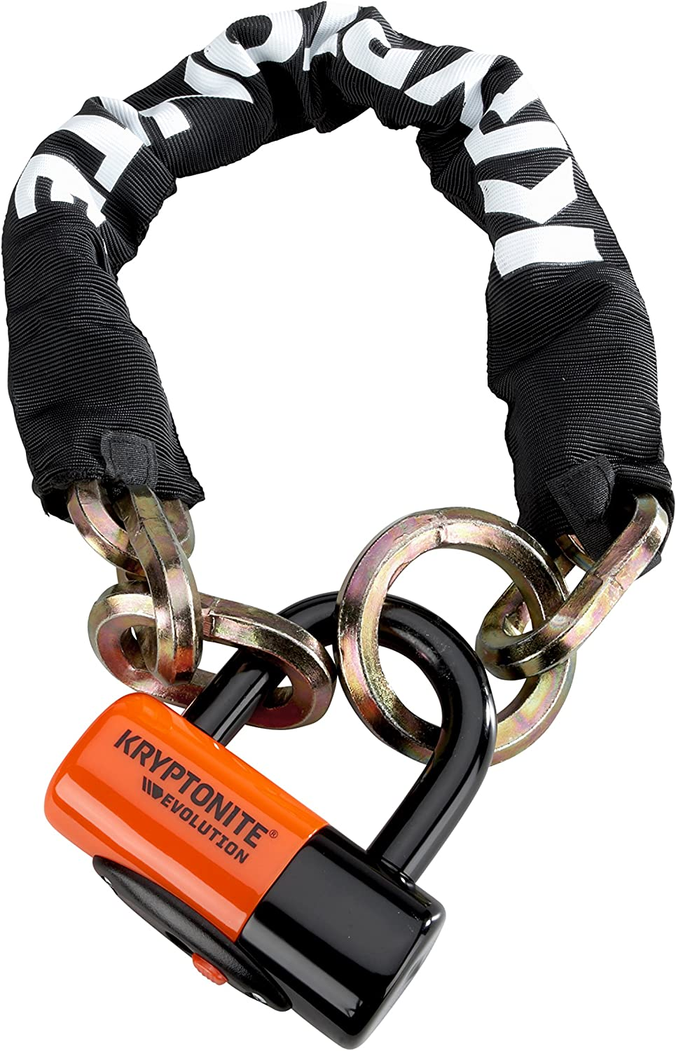 Kryptonite Stronghold with 1213 4.25 ft NY Noose w// EV series 4 Disc Lock