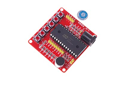 amazon com smakn® isd1700 series voice record play isd1760 modulesmakn® isd1700 series voice record play isd1760 module for arduino pic avr