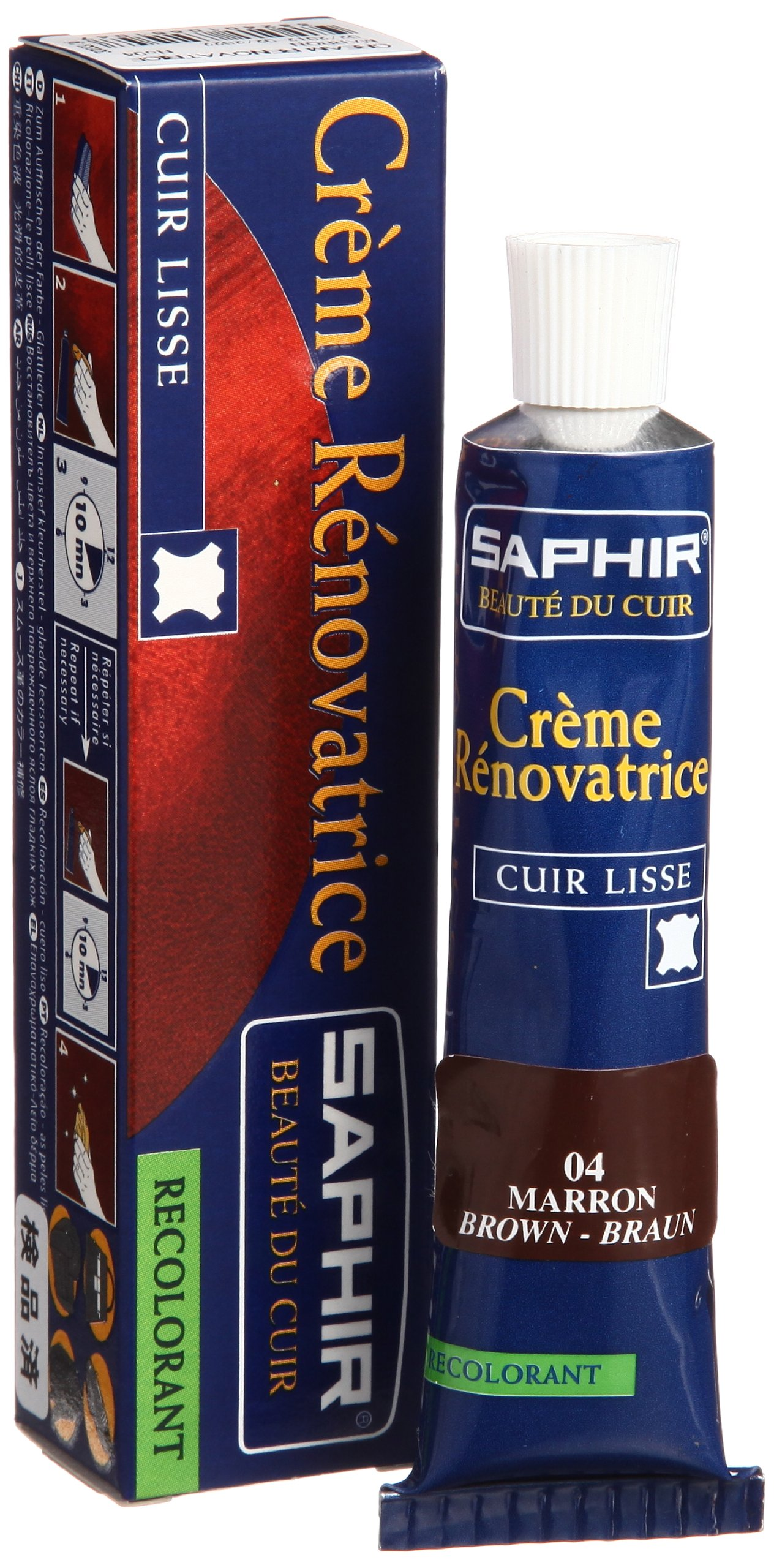 Saphir Renovating Cream - Tube - 25 Ml. (Brown)