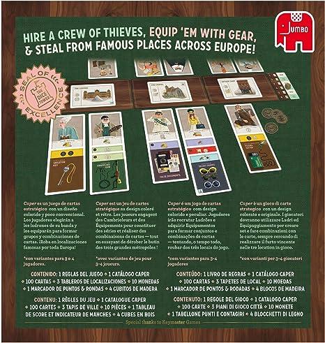 Jumbo- Caper (62406): Amazon.es: Juguetes y juegos