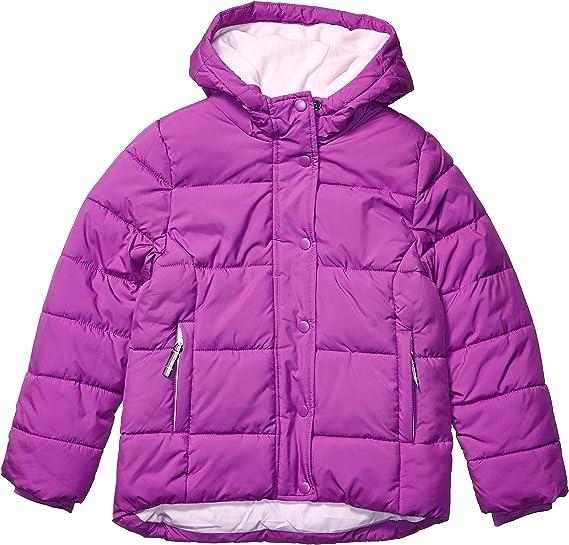 Essentials Girls Heavy-Weight Hooded Puffer Coat