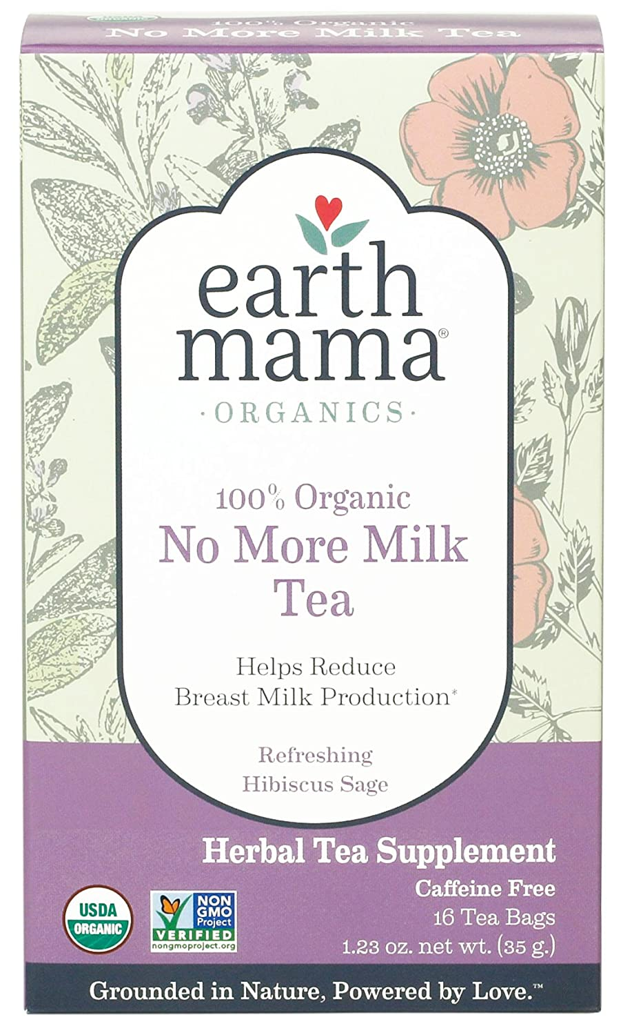 Earth Mama Angel Baby Organic No More Milk Tea EM-043