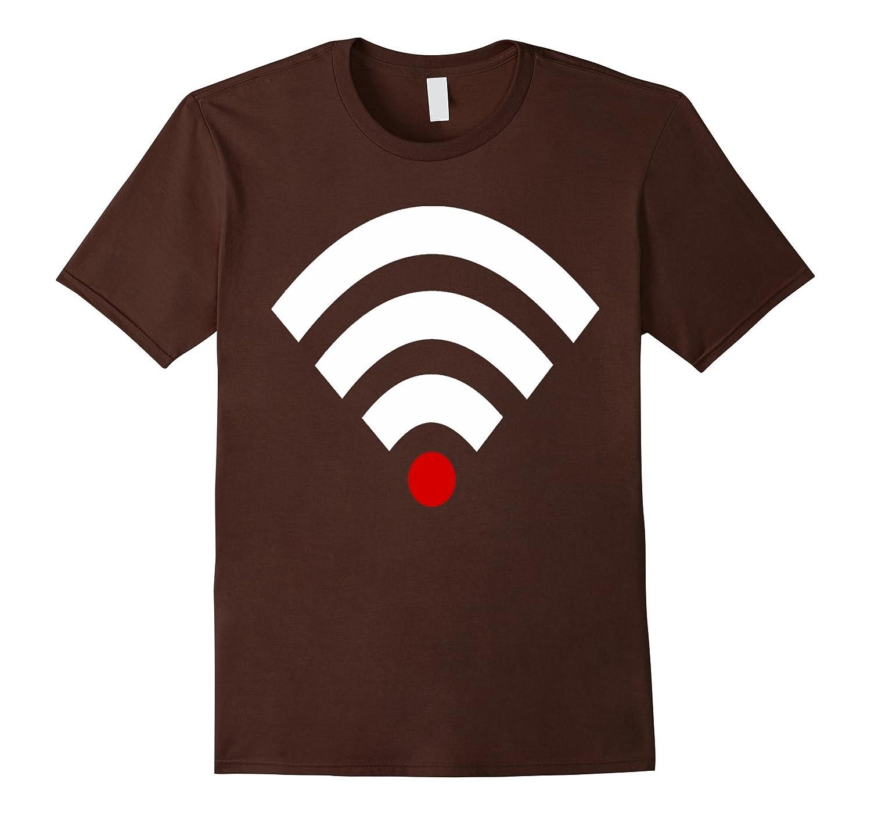 Bad Wifi Signal Halloween Couples Costume Shirt-mt