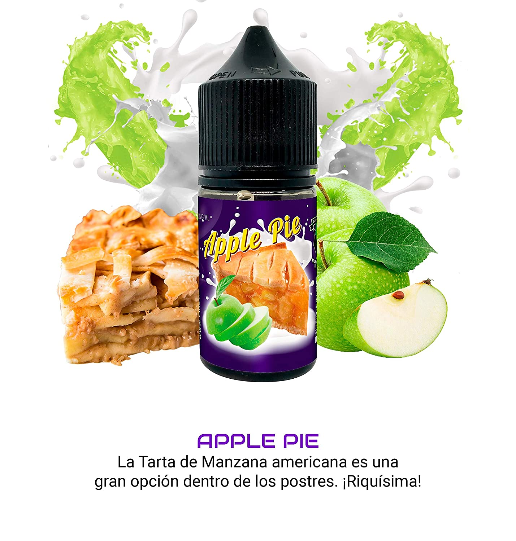 Set E-Liquid DULCE de ElecVap - Sin Nicotina - 4 sabores de ...